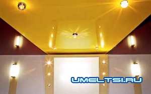Чем отделать потолок-натяжное полотно