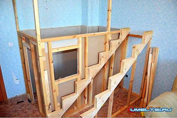 Игровой домик в квартире