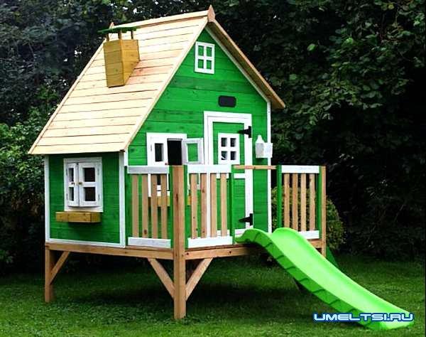 Различные идеи детского домика