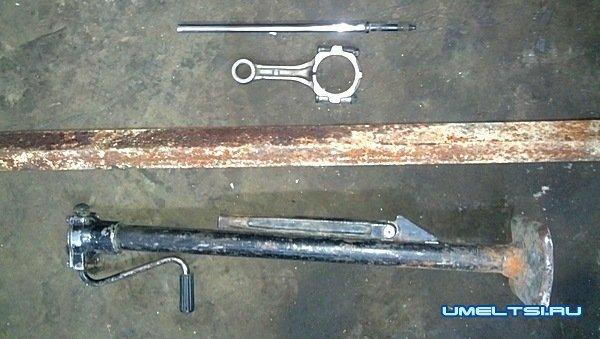 Приспособление для стяжки пружин