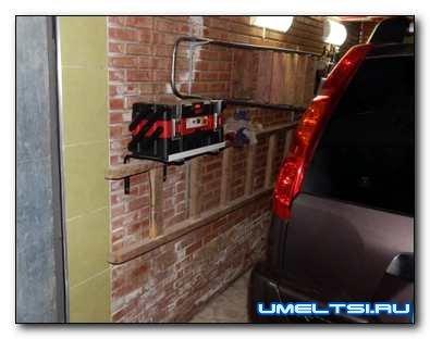 Выдвижной ящик для инструментов в гараж
