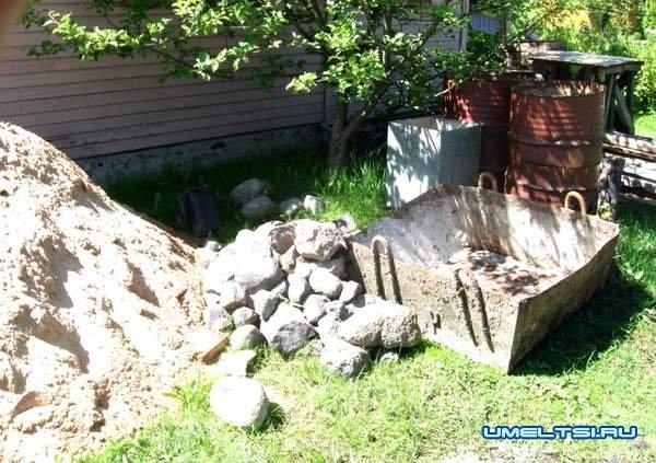 Строительство бани- строительный материал