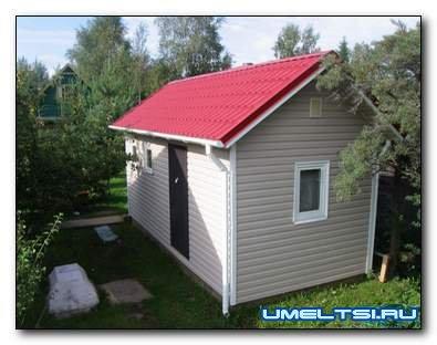 Строительство бани своими руками от фундамента до крыши