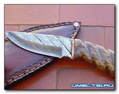 Нож из стального троса своими руками