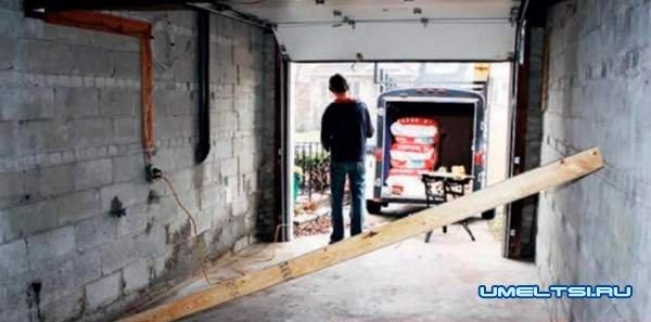гараж своими руками на даче