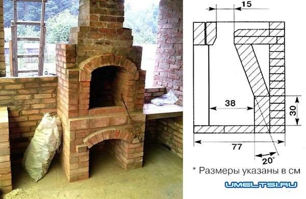 Как построить печь