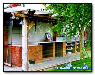 Летняя кухня на даче своими руками (опыт умельца)