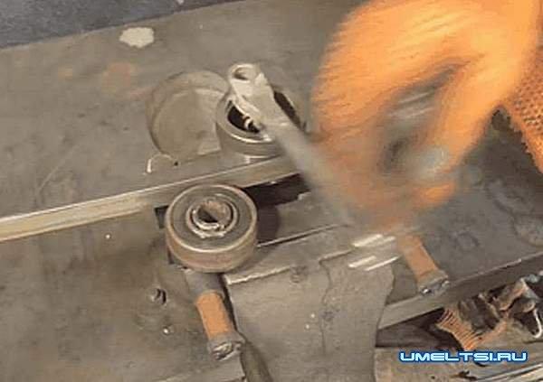 Поэтапное изготовление гибочного станка