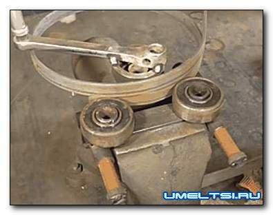 Делаем ручной гибочный станок для металла