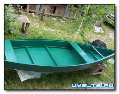 Как сделать деревянную лодку - плоскодонку: чертеж