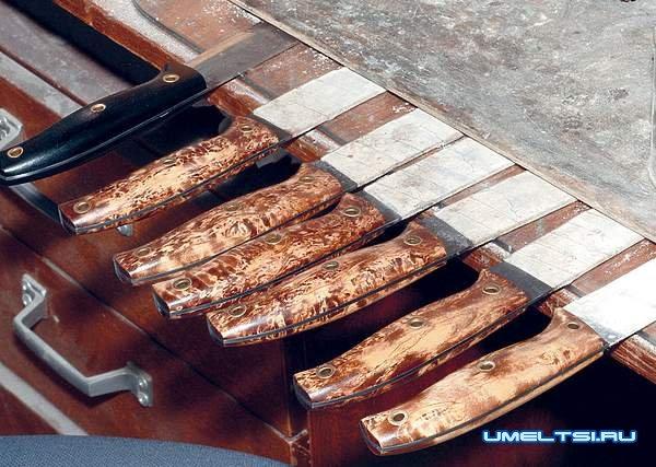 Нож своими руками в домашней мастерской