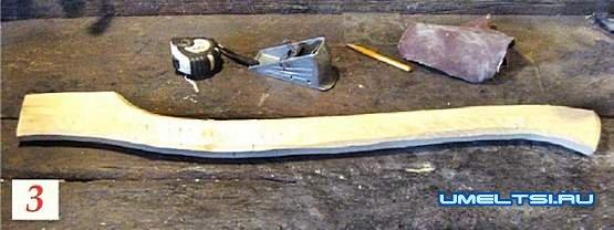 Как отремонтировать сломанный топор