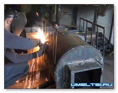 Строим печь-каменку для бани своими руками