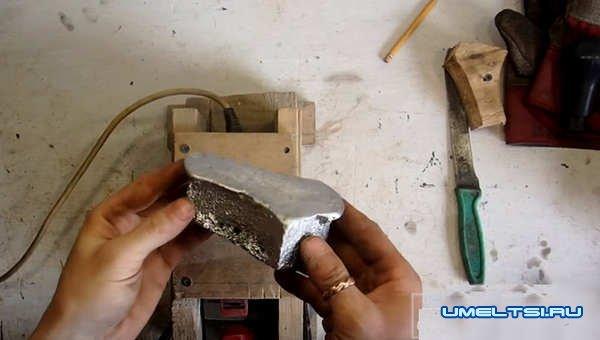 набалдашник на ручку КПП из алюминия