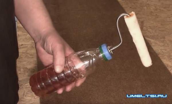 Валик с автоматической подачей жидкости: готовое изделие-фото