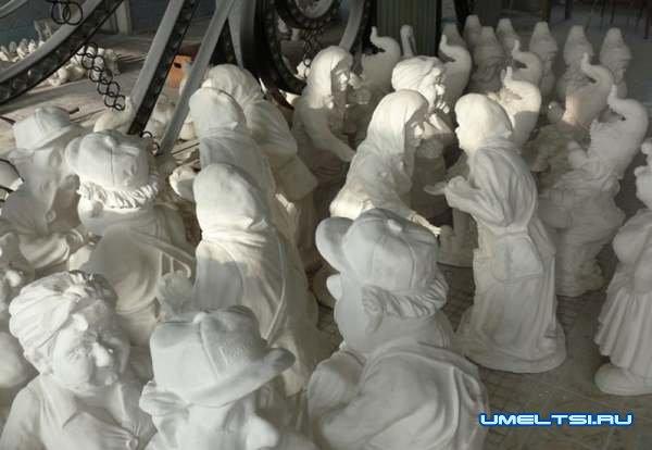 статуэтки из гипса