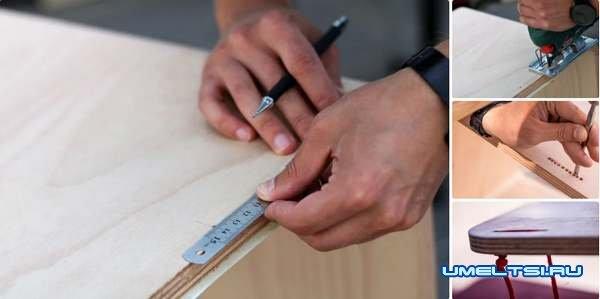 Мобильный детский стол для рисования-своими руками