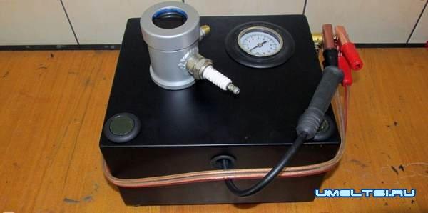 Самодельный прибор для проверки свечей зажигания