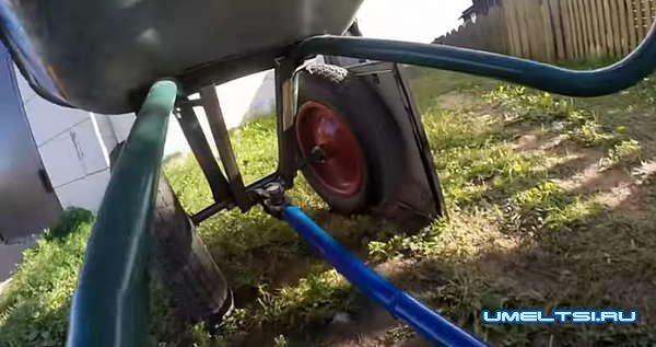 Садовая тележка с мотором своими руками