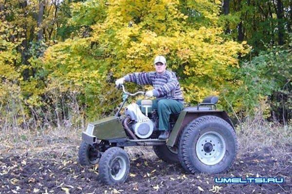 самодельного квадроцикл-фото