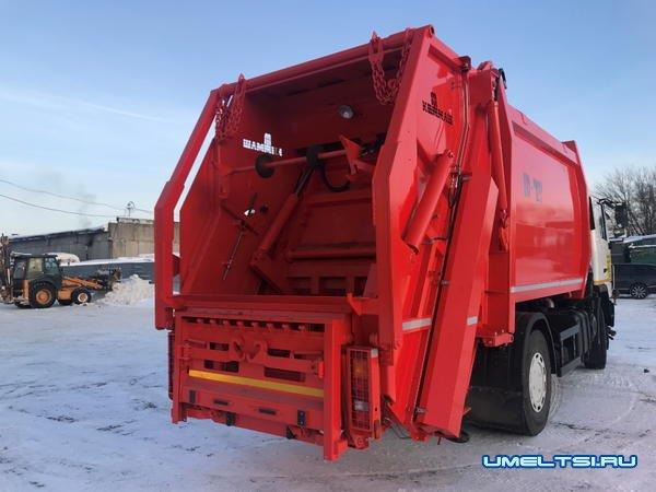 Как происходит процесс вывоза мусора