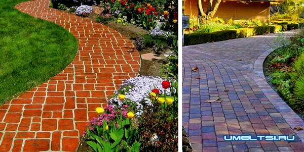 Из чего лучше сделать садовые дорожки
