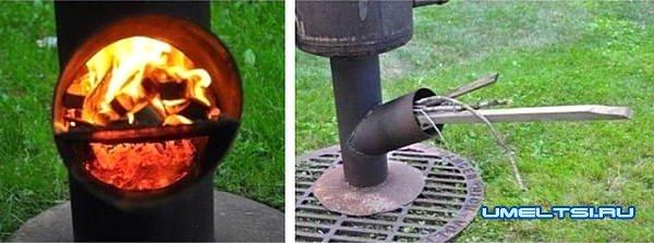 Как сделать мангал rocket своими руками