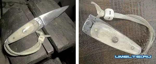 складной карманный нож своими руками