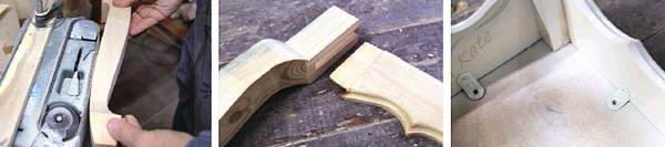 Изготовление табурета с кривыми ножками