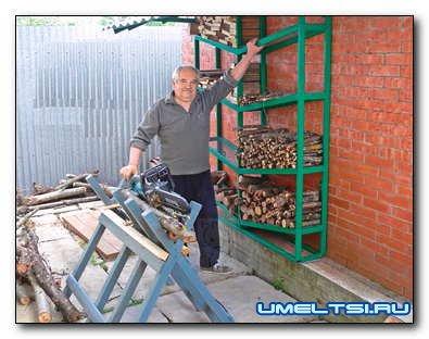 Как сделать удобные козлы для распиловки дров