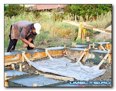 Как построить дом на одну пенсию ч. 1: фундамент