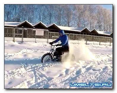 Электровелосипед «Турист» своими руками: чертежи, видео