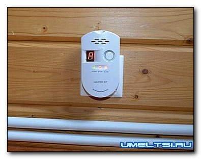 Сигнализатор загазованности — датчик утечки газа, обязательно ли ставить, установка