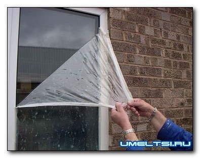 Как защитить окна ПВХ на время проведения ремонта?