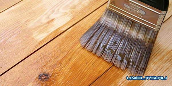 Составы для пропитки древесины