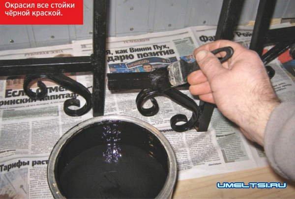Изготовление стеллажа для мастерской