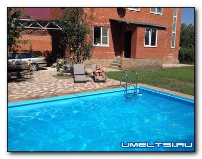 Как построить домашний бассейн во дворе