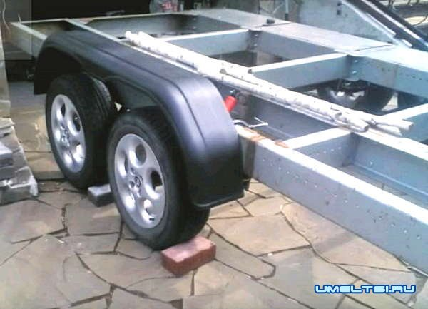 Двухосный прицеп для легкового автомобиля
