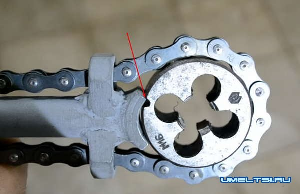 Плашкодержатель своими руками из бросового материала