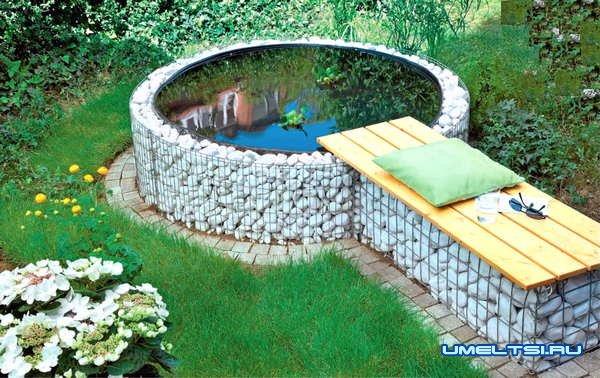 Мини-пруд  для любого сада