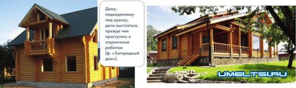 Бревенчатый дом своими руками