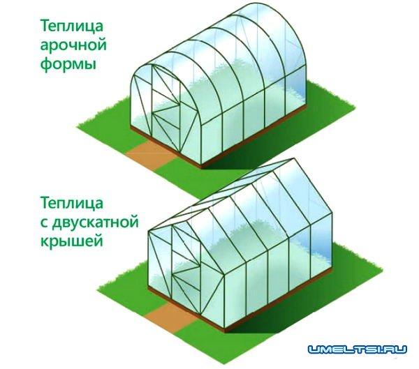 Теплицы из поликарбоната: преимущества и недостатки