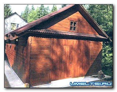 Строительство столярной мастерской на даче