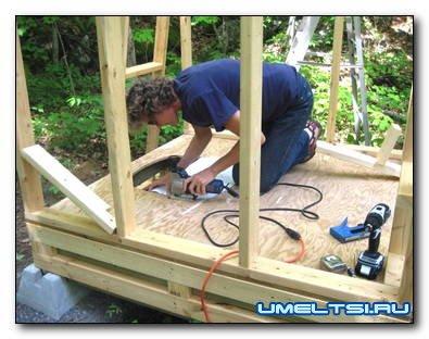 Строим пудр-клозет на даче своими руками