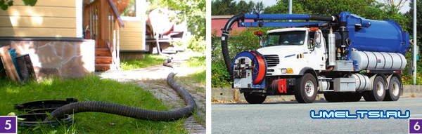 система отвода и утилизации стоков
