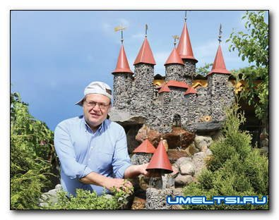 Как построить фонтан в средневековом стиле