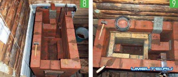 Дровяная печь-каменка для бани