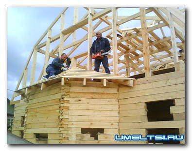 Как построить загородный дом: пример строительства