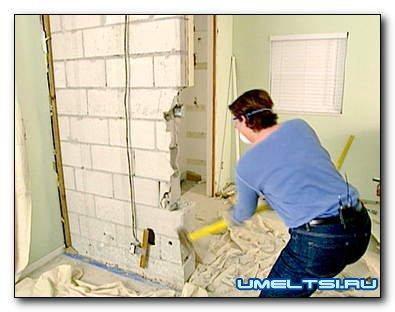 Демонтажные работы перед ремонтом квартиры