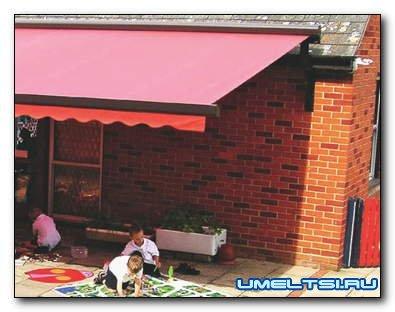 Что спасет от солнца: навесы, маркизы, зонты